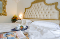 Letto matrimoniale Royal Suite.